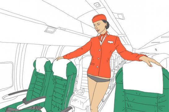 О работе стюардесс