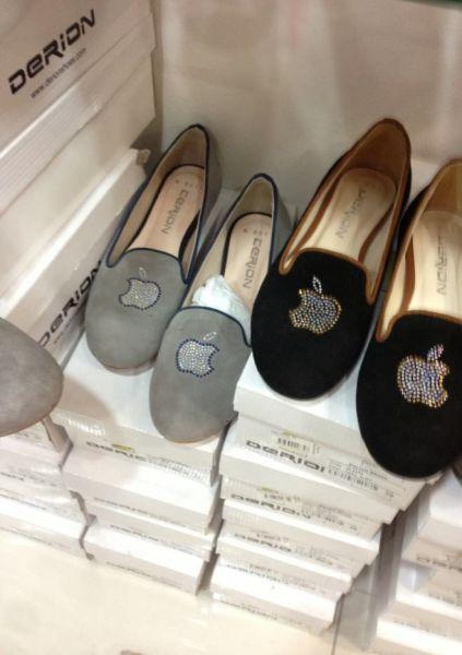 Обувь яблофилов